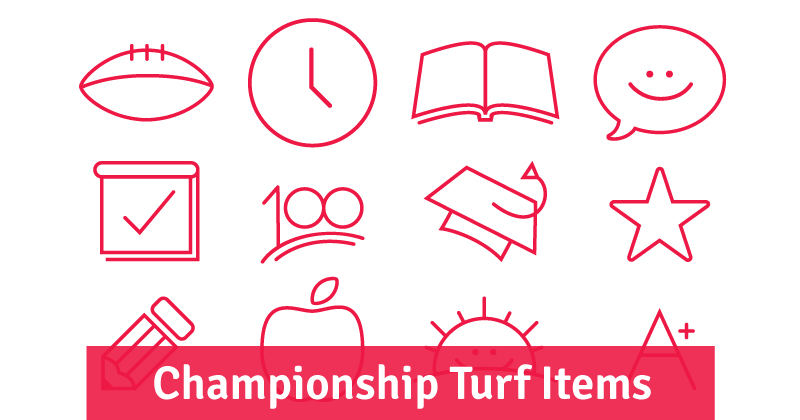 Championship Turf Items