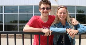 Pinnacle Bank Championship Ambassadors: Shawna and Logan