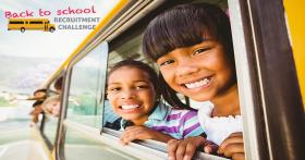 Mentors compete in Back to School Challenge