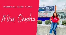Miss Nebraska continues support for TeamMates communities