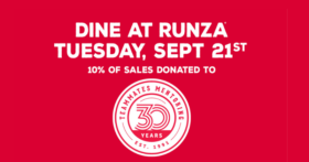 Runza & TeamMates Mentoring Program team up for your support